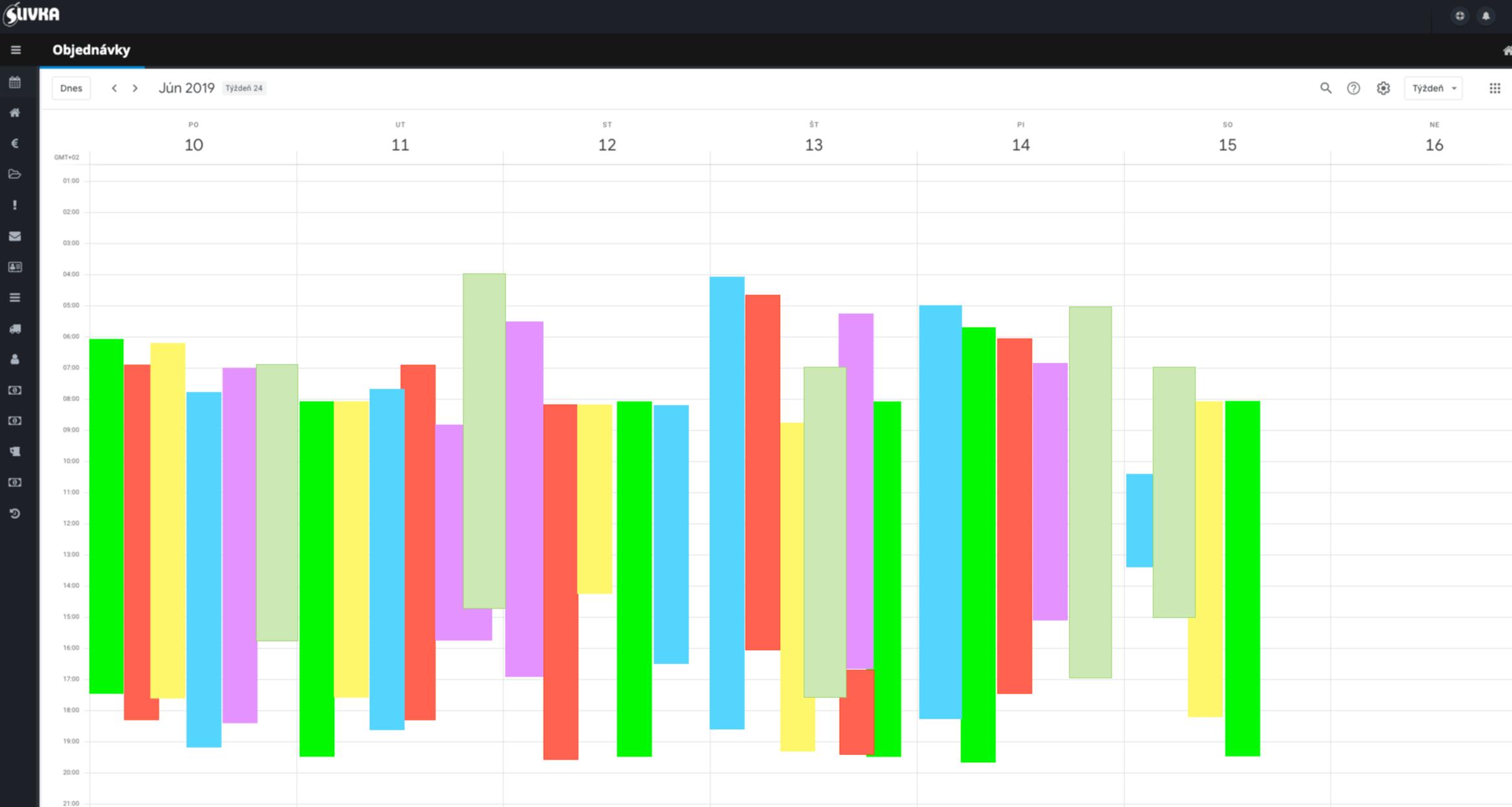 kalendár CRM